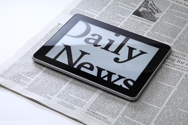 新聞タブレットのデイリーニュース