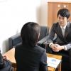プレゼンテーション中のビジネスマン