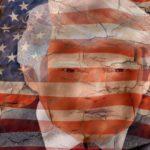 アメリカ国旗とリーダー