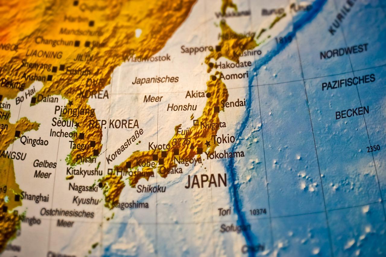 日本全国航空地図