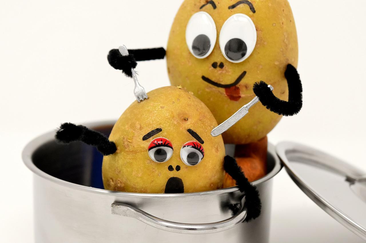 ジャガイモの共食いカニバライゼーション