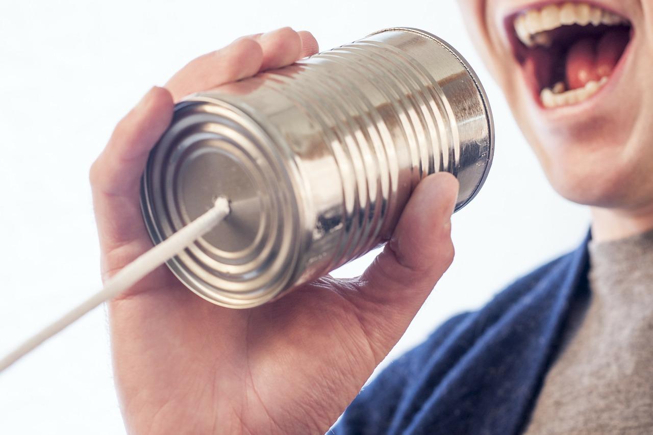 糸電話で口コミ