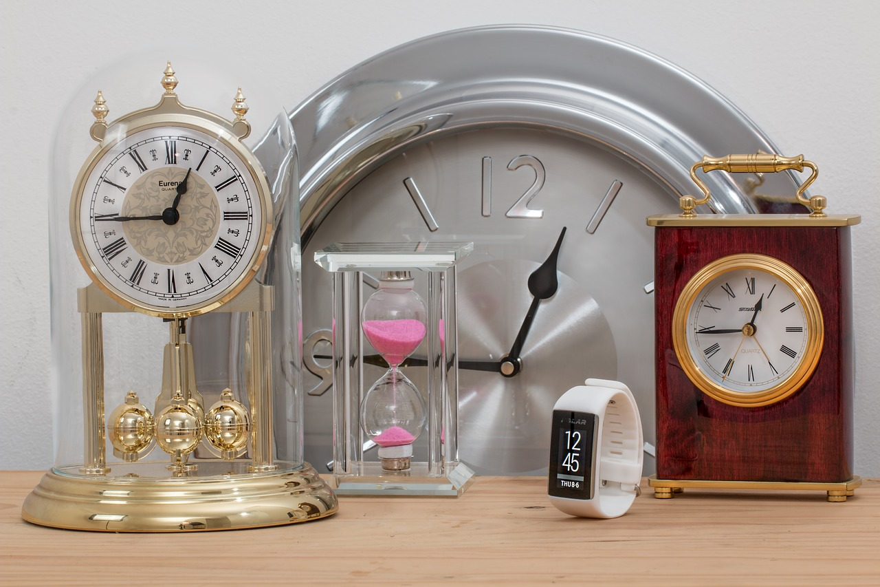 忘れないように時計が5個