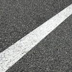 道路の白線