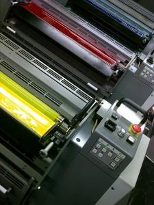 オフセット枚葉印刷機